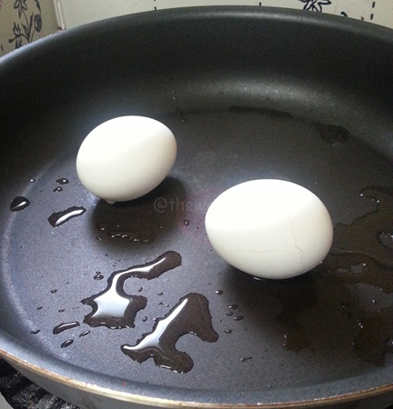 Hard Boiled Egg: Step 4 After steaming!