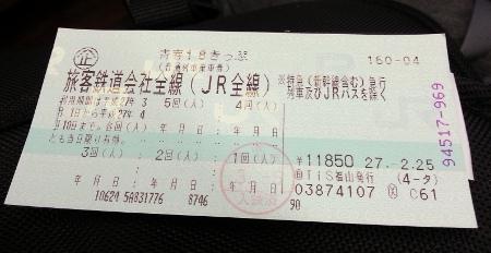Seishun Ticket: Front