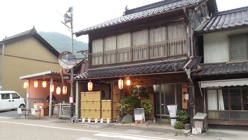 Japanese Fireflies in Hokubo, Maniwa City: Food stands