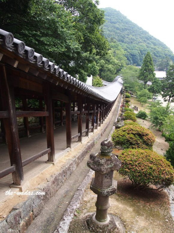 Kibitsu Shrine, Okayama: 360-meter corrigidor