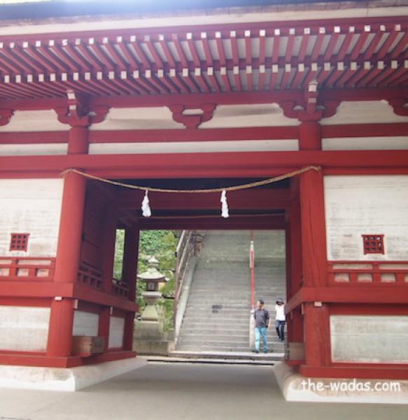 Kibitsu Shrine, Okayama: First Gate