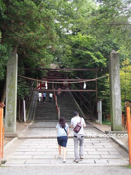 Kibitsu Shrine, Okayama City: Main Entrance (Full shot)