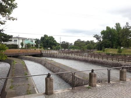 Sakazu park canal