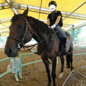 Horse Riding: Mr. Wada's horse