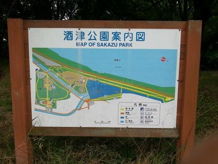 Sakazu park map