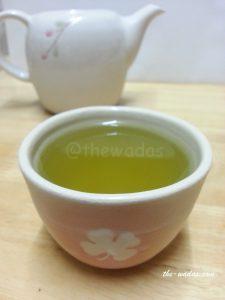 Super Green Tea: Cold-brew green tea (failed)