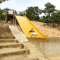 tanematsuyama_park_slide_yellow_bottom
