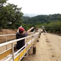 Tanematsuyama Park, Kurashiki City: Slides #1 (side)