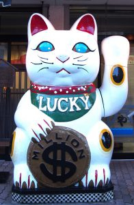 American-version Maneki-nek (Beckoning Cat)