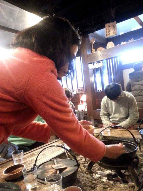 Zenzai eat-all-you-can at Ochuudo Cafe (落人)