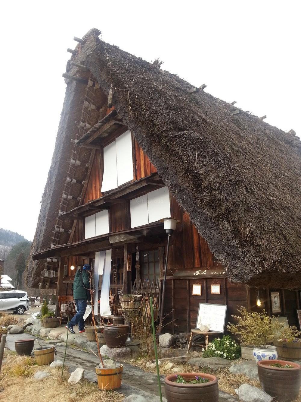 Ochuudo Cafe (落人) at Shirakawa-go