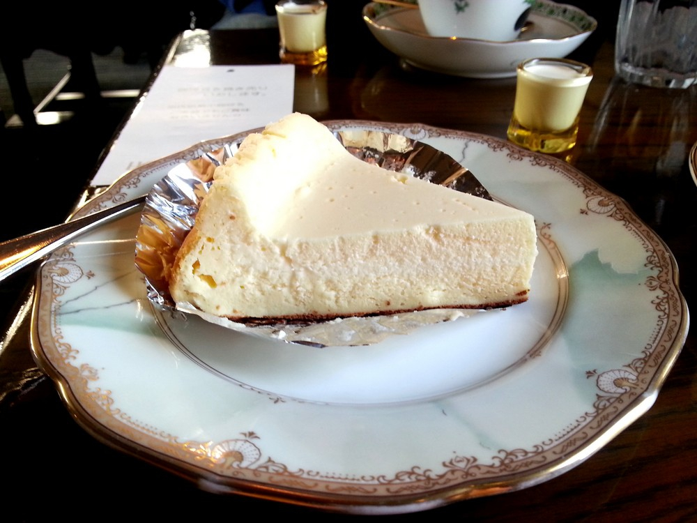Honky Tonk Coffee Shop: Delicious baked cheese cake