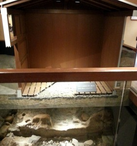 Arima Hot Spring Museum: Steam bath replica