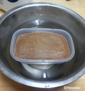 Cinnamon-kinako flavor Uiro: cool down