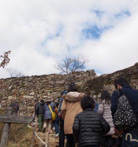 Takeda Castle Ruins – entrance