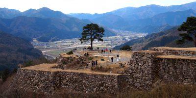 Machi Picchu-like view: Takeda Castle Ruins