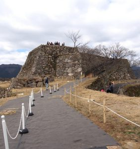 Takeda Castle Ruins – surrounding