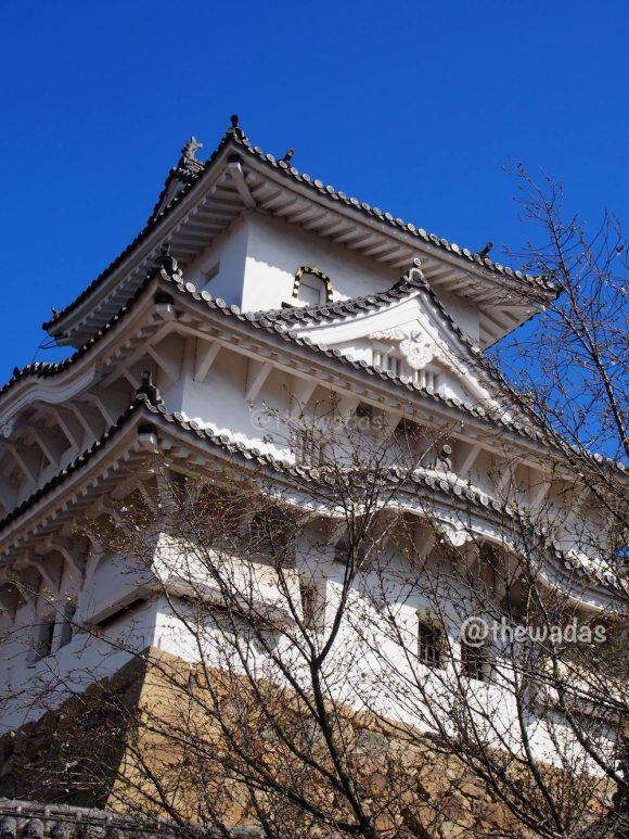 Himeji Castle: Rooftop