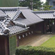 Ajisai Flower Festival in Kibitsu Jinja: archery target