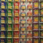 Cup noodles from different countries