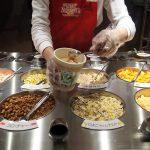 Choosing the toppings