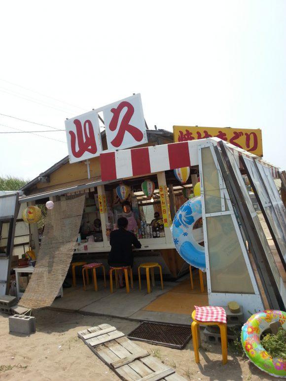 chirihama_nagisa_driveway_bbq_store