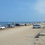 Driving on Beach: Chirihama Nagisa Driveway