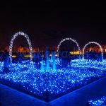 Winter Illuminations in Japan: Nabana no Sato flour garden