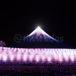 Winter Illuminations in Japan: Nabana no Sato mt. Fuji
