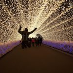 Winter Illuminations in Japan: Nabana no Sato light tunnel (Mr. Wada gone nut)