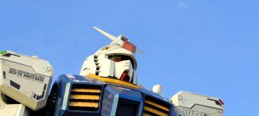Life-Size Gundam Statue in Tokyo