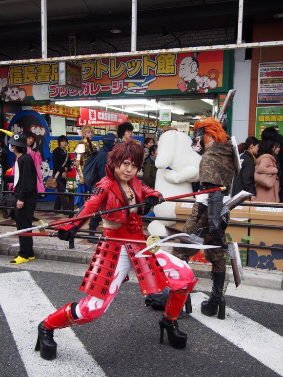 Nipponbashi Street Festa in Osaka