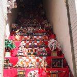 Hina-ningyo on stairs