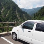On the way to Shirakawago.