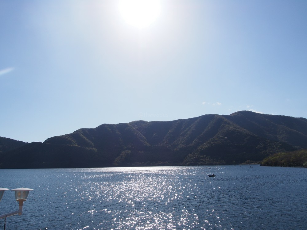Lake Ashi in Hakone