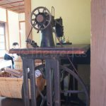 Displays: old sewing machine