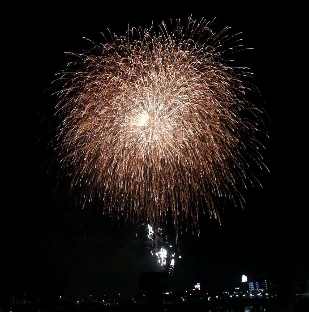 okayama momotaro festival fireworks