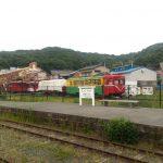 shimotsui_in_kurashiki_closed_station_trains