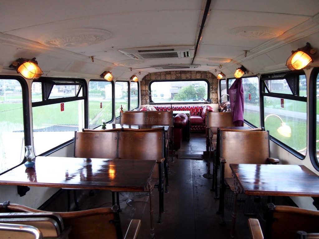 The Double-Decker Bus Cafe in Okayama: Montague