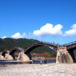 Kintaikyo Bridge in Iwakuni, Yamaguchi