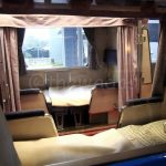 Luxurious night train (bed room)