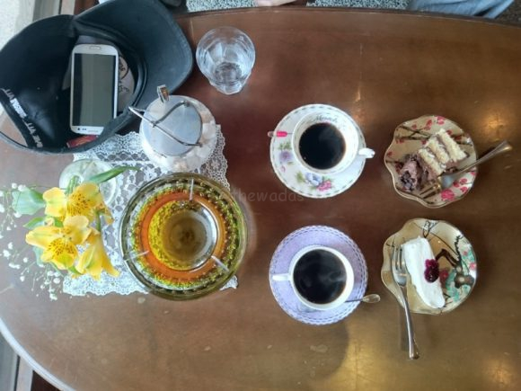 Kouheigura Coffee Shop in Kojima: coffee and sweets