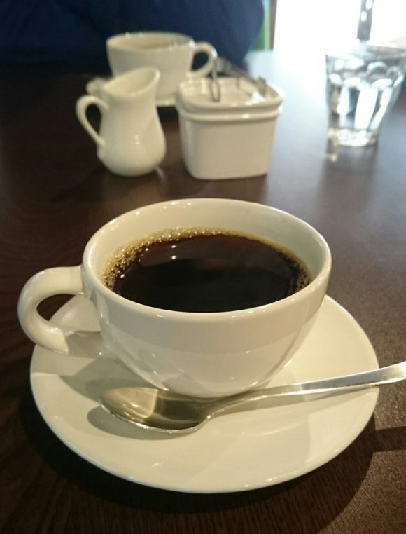 Cafe Meijiya's aged coffee