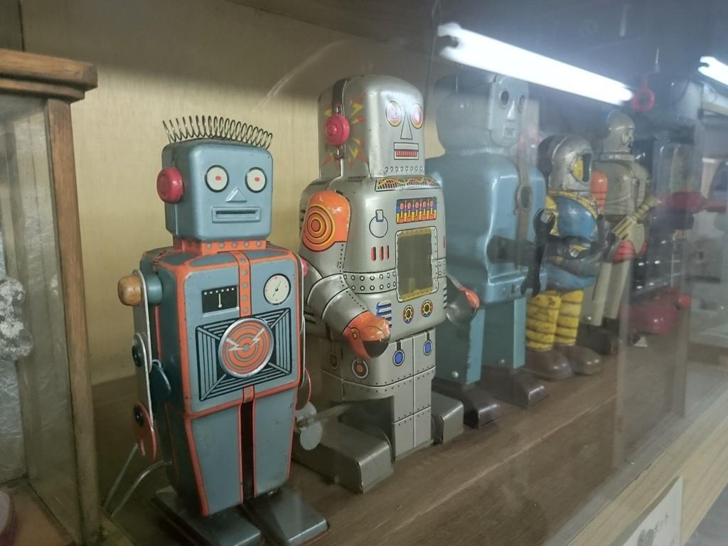 Vintage Toy Museum in Mimasaka City, Okayama Prefecture