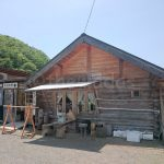 log-house-cafe-kiraku-in-akaiwa-city-okayama-front