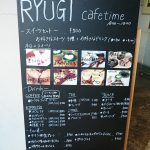 Menu for coffee time