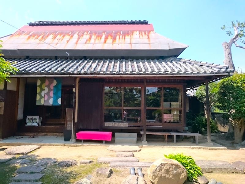 Kurashiki Sabo Ouka Cafe - another shot of cafe facade