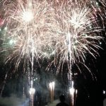 Fireworks Festival in Asakuchi City, Okayama