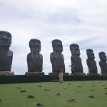 Mmoai statues (close)