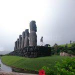 Moai statues (back)